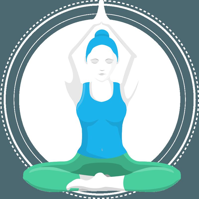 Yoga online machen auf Deutsch